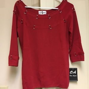 Sweaters - 3/4 Sleeve Once Again Top